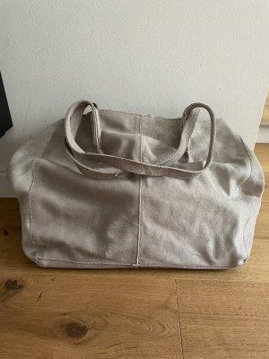 Handtasche von Mango silber