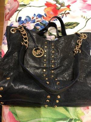 Handtasche von Michael Kors in schwarz aus Leder