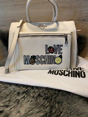 Handtasche von Moschino mit herausnehmbarer Tasche
