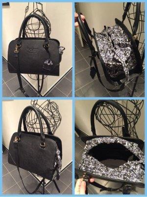 Handtasche von Pepe Jeans schwarz blau