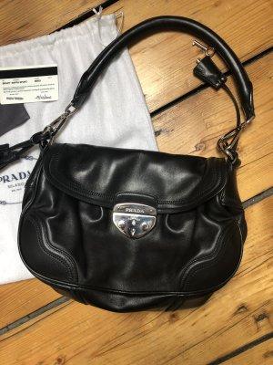 Handtasche von Prada aus butterweichem Leder