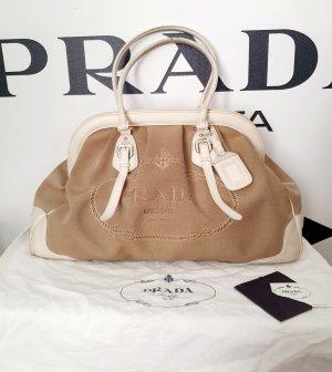 Handtasche von Prada Stoff/ Leder mit dustbag