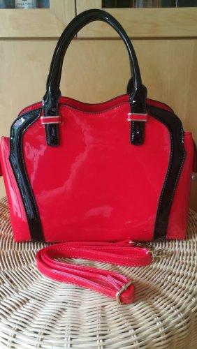 Handtasche von Vicci. NEU. 32x26x13. Lackiert.
