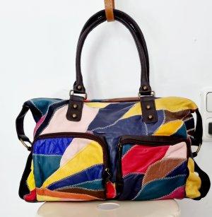 Pull & Bear Shopper multicolore cuir