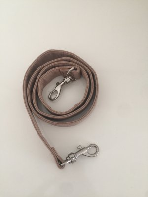 Faux Leather Belt beige