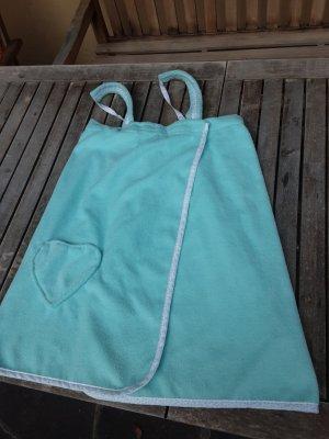 Robe de bain turquoise-vert menthe