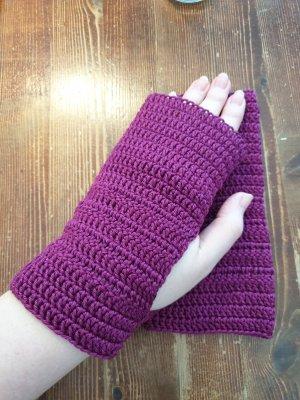Handwärmer im purpur/lila