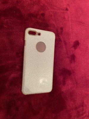 Hoesje voor mobiele telefoons zilver-wit