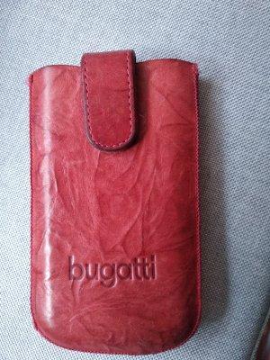 Bugatti Pokrowiec na telefon komórkowy głęboka czerwień