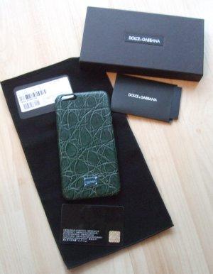 Dolce & Gabbana Carcasa para teléfono móvil verde oscuro