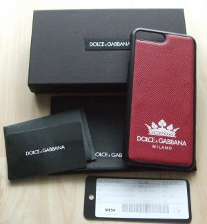 Dolce & Gabbana Étui pour téléphone portable rouge