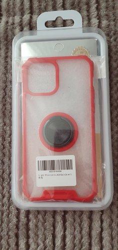 Étui pour téléphone portable rouge