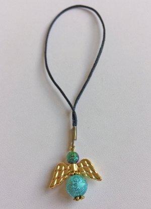 no name Portachiavi oro-turchese Metallo