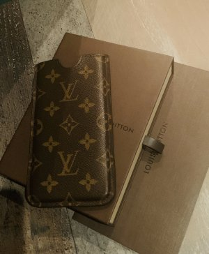 Louis Vuitton Mobile Phone Case brown-oatmeal