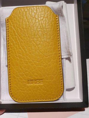 Bree Étui pour téléphone portable jaune