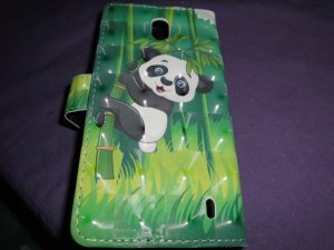 Mobile Phone Case forest green-white