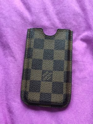 Louis Vuitton Mobile Phone Case bronze-colored-brown