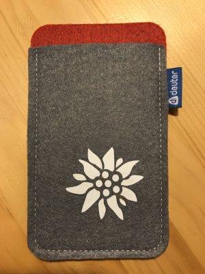 Deuter Mobile Phone Case grey-red