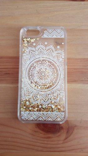 Zalando Collection Button white-gold-colored