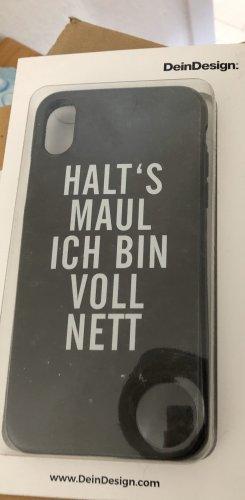 Dein Design Mobile Phone Case black-white