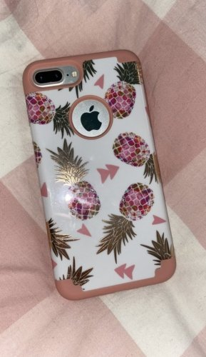 Mobile Phone Case white-pink