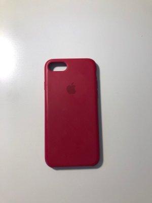 Apple Étui pour téléphone portable rouge carmin