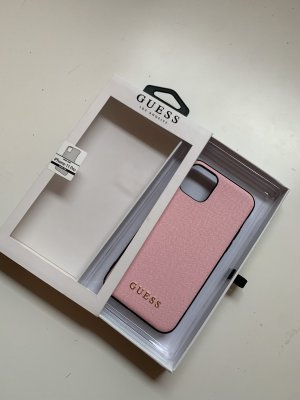 Guess Mobile Phone Case pink-black