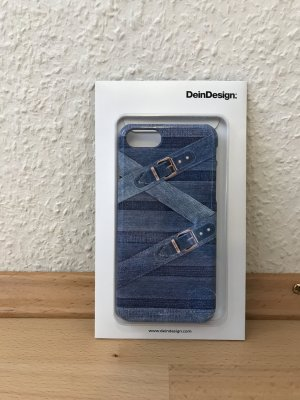 Dein Design Mobile Phone Case azure-steel blue