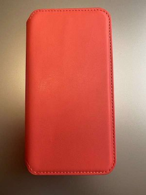 Handyhülle iPhone XR rosa Leder