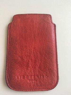 Liebeskind Étui pour téléphone portable rouge-rouge carmin