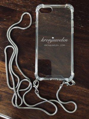 Kronjuwelen Pokrowiec na telefon komórkowy srebrny