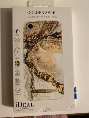 Mobile Phone Case white-gold-colored