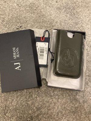 Armani Jeans Mobile Phone Case grey