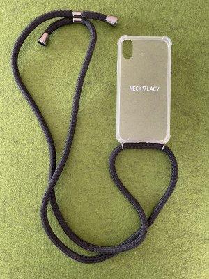 Necklacy Carcasa para teléfono móvil negro