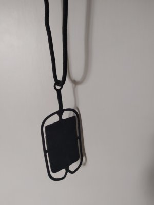 unbekannte Pokrowiec na telefon komórkowy czarny