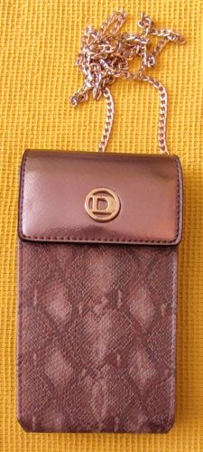 DUNE LONDON Mobile Phone Case rose-gold-coloured-beige leather