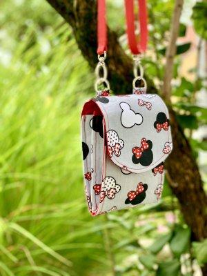 Handytasche/phonebag Minnie Mouse Köpfe *NEU*