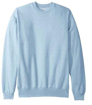 Hanes Sweatshirt blau Casual-Look