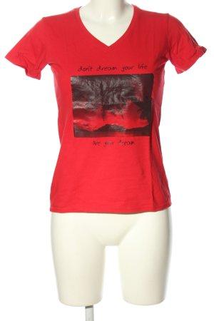 Hanes V-Ausschnitt-Shirt