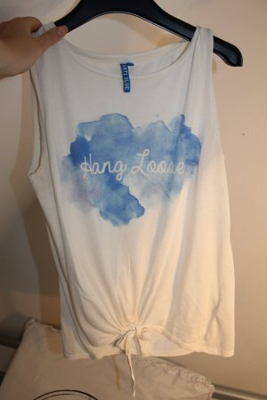Anti Blue Tank Top multicolored cotton