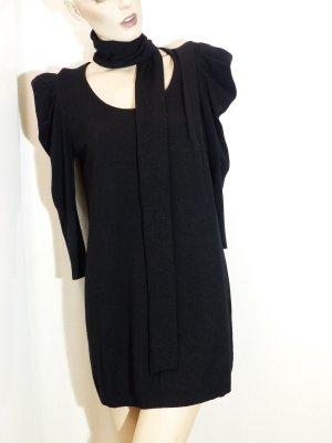 hanita Vestido de lana negro