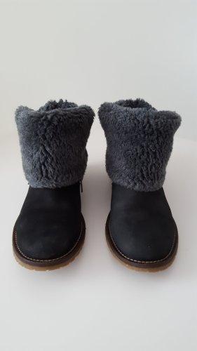 HANNA WHITE Damen Schuhe Stiefeletten Leder Gr. 39