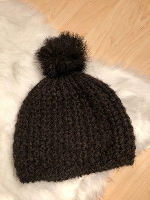 Hanna White Mütze Wollmütze Alpaka