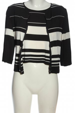 Hanne Hafner Woven Twin Set black-natural white allover print casual look
