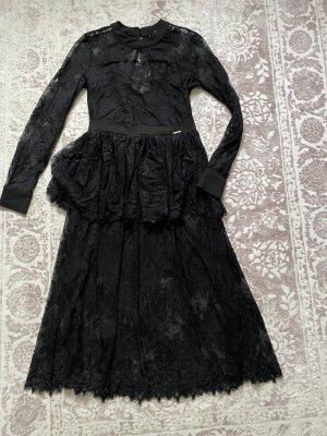 Hanny Deep Kleid neu mit Etikett schwarz spitze M 38