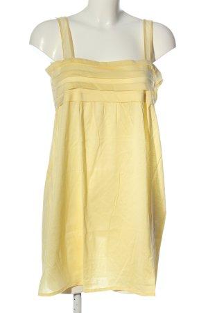 Hanro Top largo amarillo pálido look casual