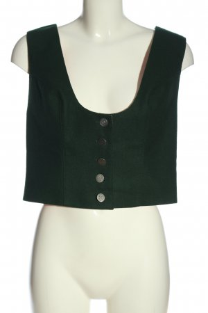 Hansi Trachten Gilet de costume vert style d'affaires