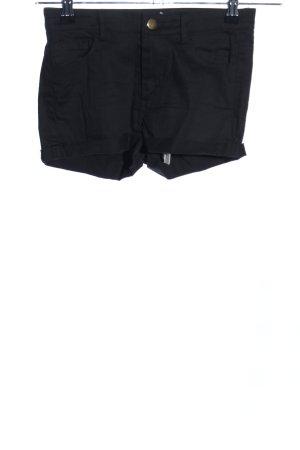 Haoduoyi Hot Pants schwarz Casual-Look