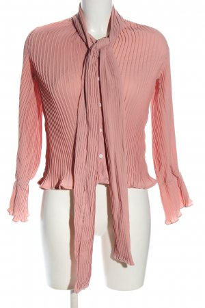 Haoduoyi Schluppen-Bluse pink Business-Look