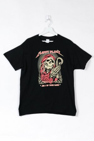 Gildan Print Shirt black cotton